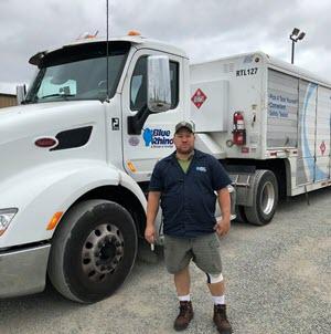 CDS Truck School Graduate Brian Clabaugh